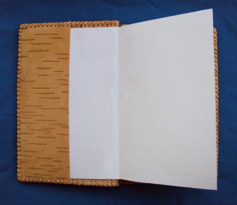 ежедневник с обложкой из бересты