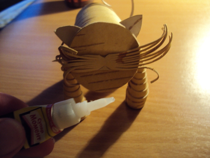 игрушка кота из бересты своими руками мастер-класс