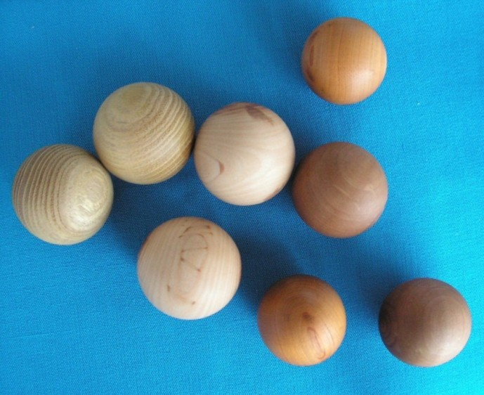 шары массажные из дерева