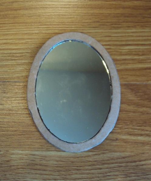 зеркальце из бересты своими руками
