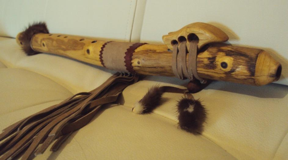 индейская флейта пимак Лисица