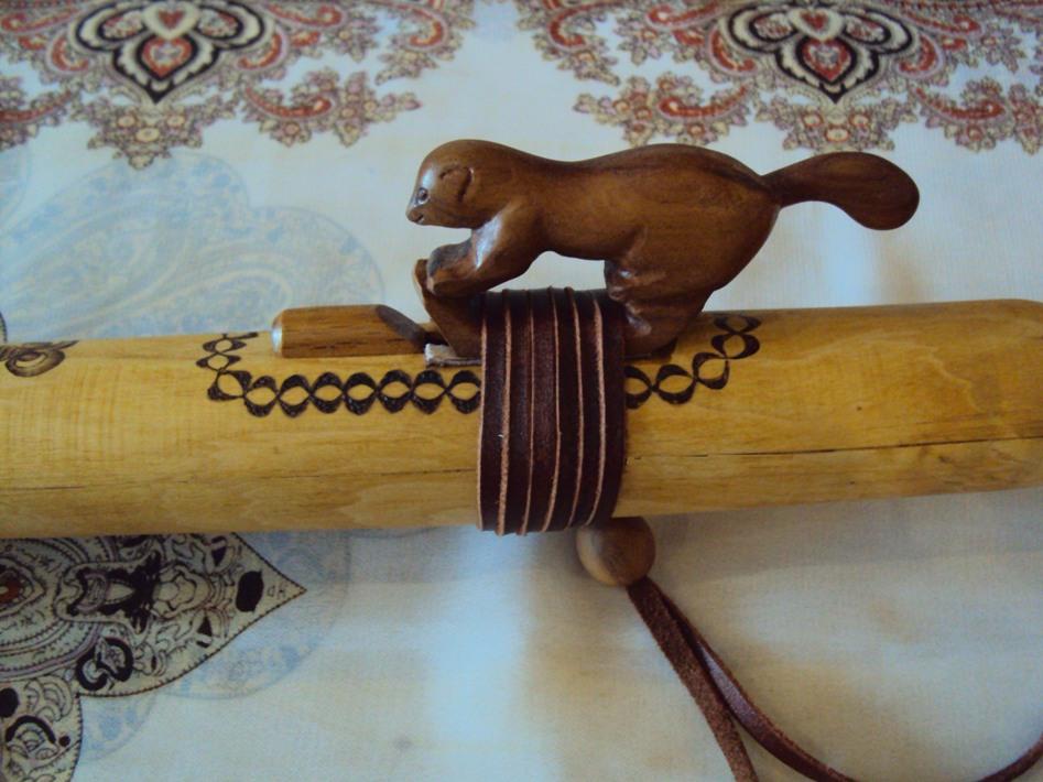 индейская флейта пимак Куница