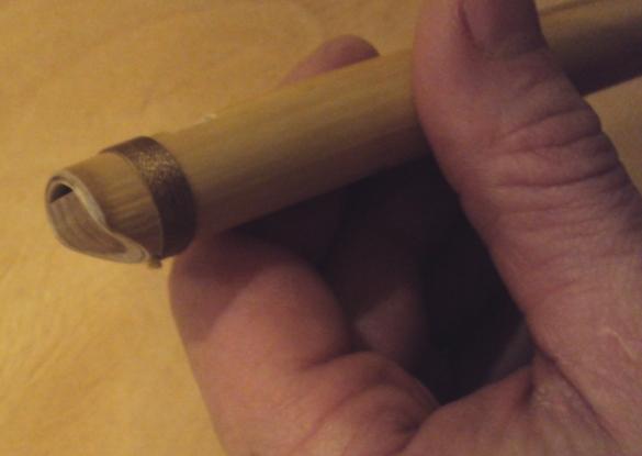 как сделать флейту своими руками мастер класс