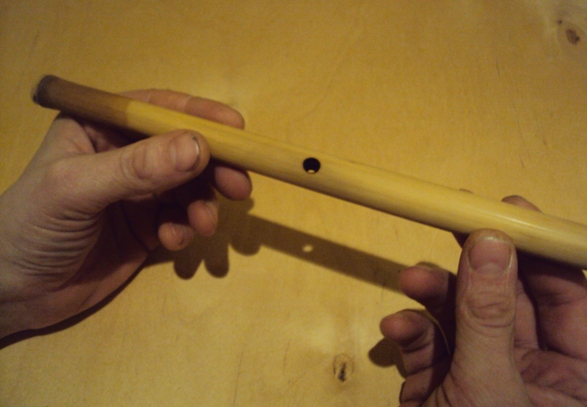 Изготовление музыкальных инструментов своими руками флейта свирель