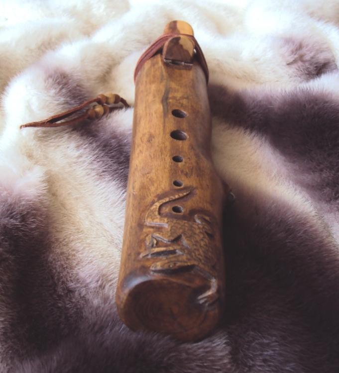 индейская флейта пимак Ящер