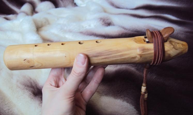 деревянная флейта пимак из яблони