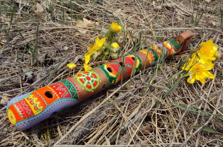 деревянная флейта пимак весенняя
