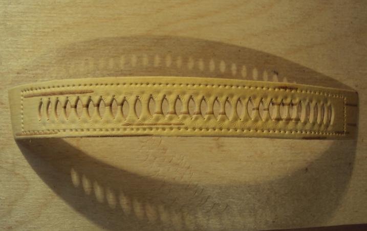 резьба на браслете из бересты своими руками