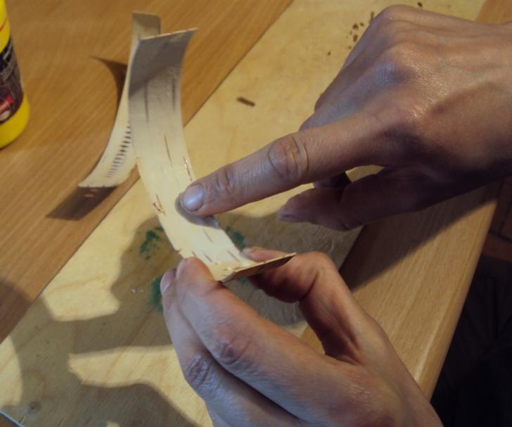 как сделать фенечку из бересты своими руками