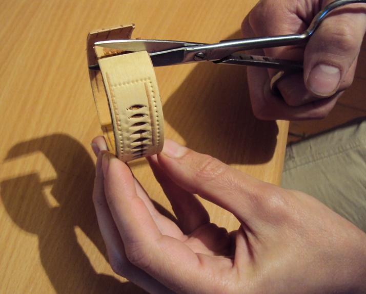 браслет из бересты своими руками