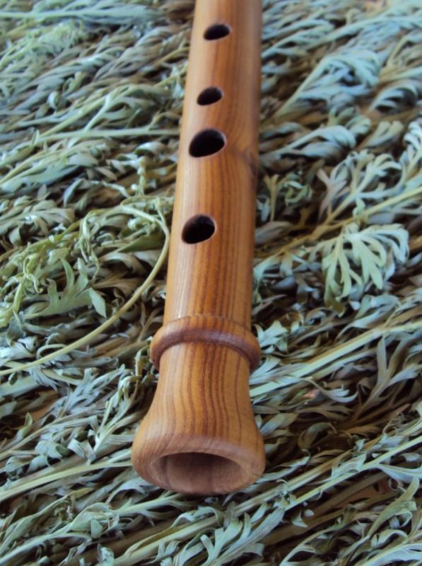 деревянная продольная флейта свирель альт