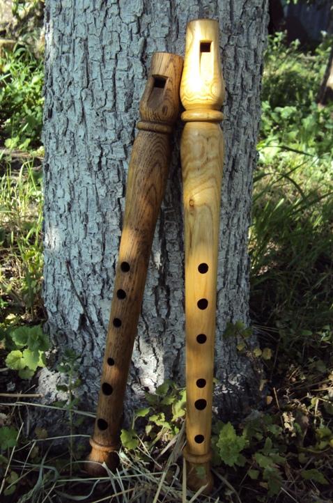 Флейта свирель из дерева