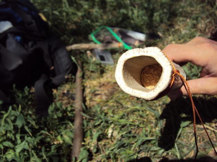 изготовление индейской флейты пимак