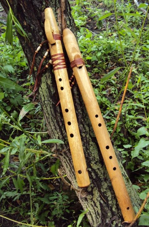 индейская флейта пимак из березы