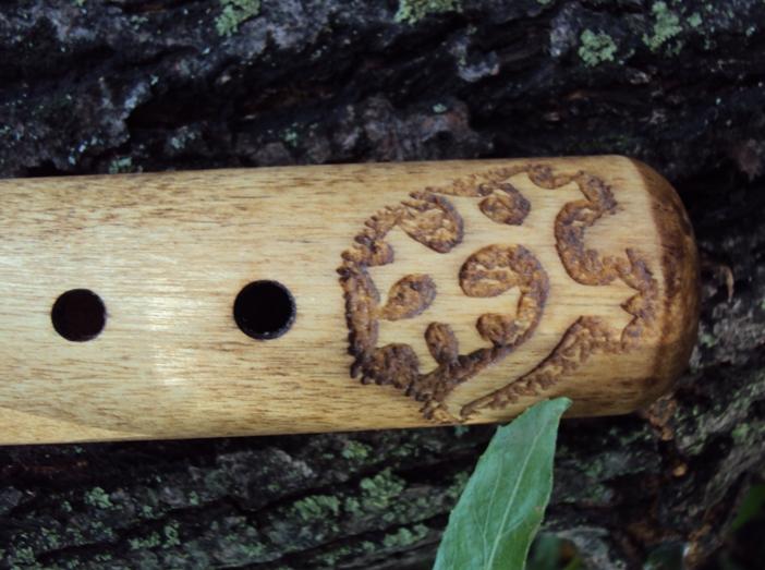 """деревянная окарина из березы""""Тропинками севера"""""""