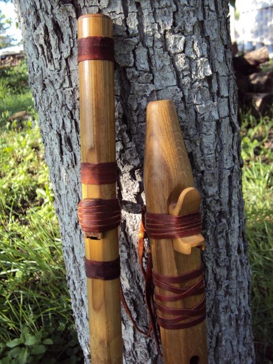 Индейская продольная флейта пимак