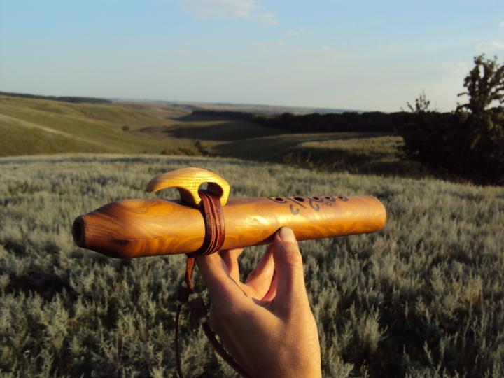 флейта пимак- окарина из маслины