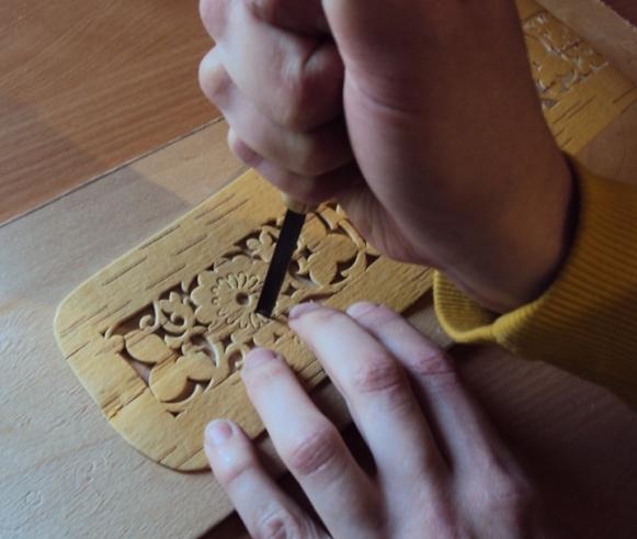 делаем шкатулку из бересты своими руками,мастер-класс