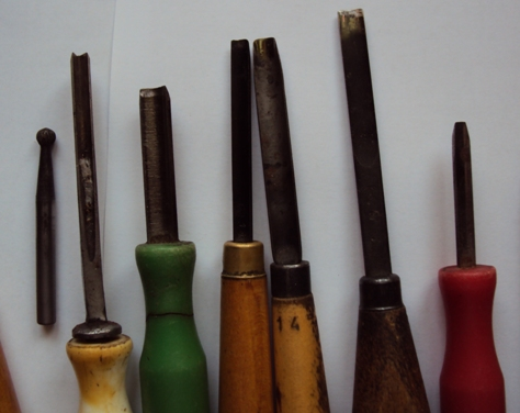 инструменты для резьбы по бересте