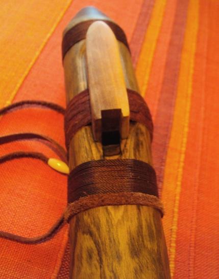 флейта пимак из маслины в Ре