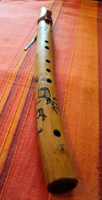 флейта пимак из ивы в Ре- диезе