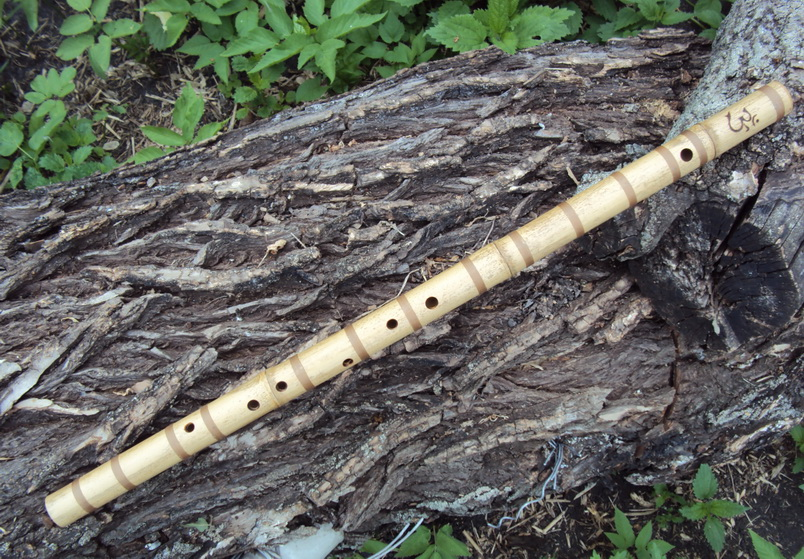бамбуковая поперечная флейта бансури купить