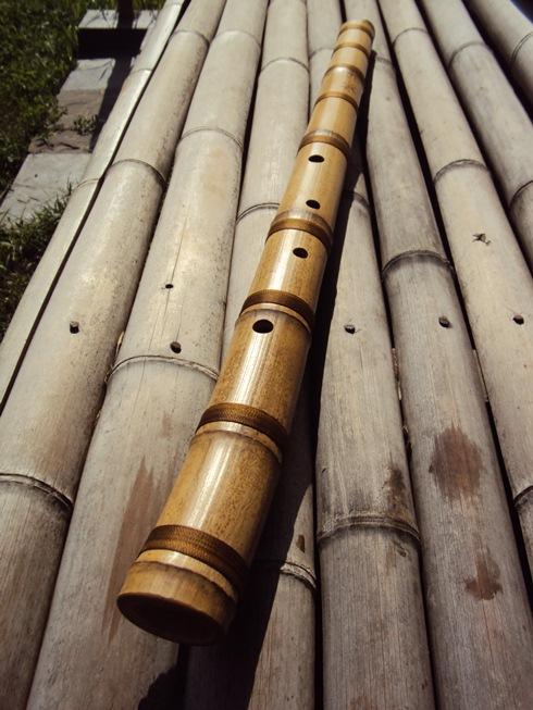 японсая бамбуковая флейта хотику