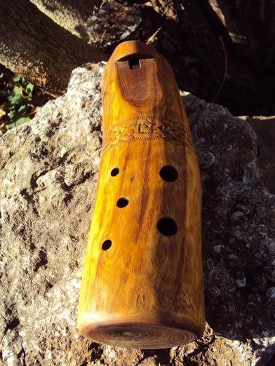 деревянная окарина в До