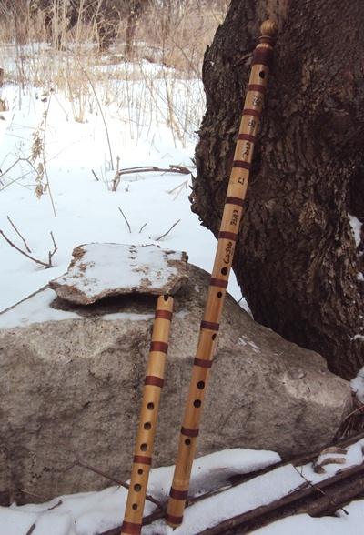 бамбуковая флейта бансури и кена, купить