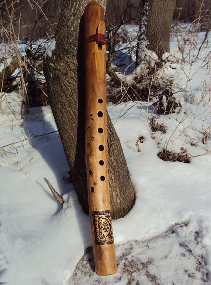 флейта пимак Следы на снегу в Ре купить