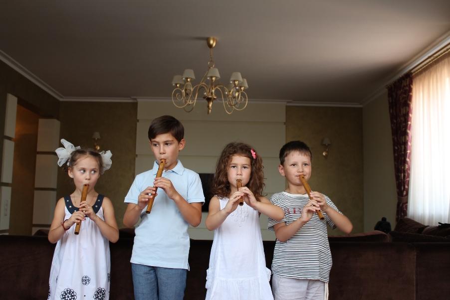 """свирели на заказ для детского ансамбля """"Ключик"""""""