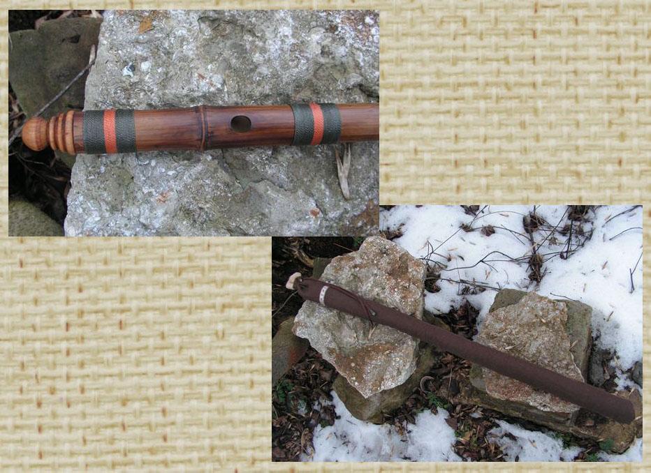 поперечная бамбуковая флейта бансури в До купить