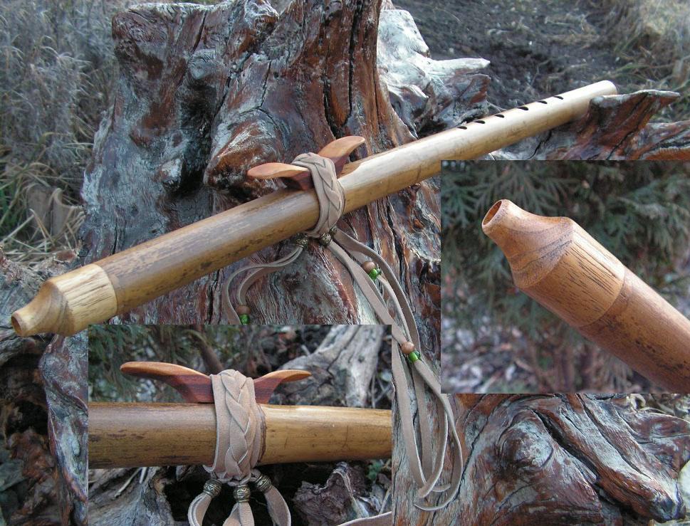 индейская флейта любви из тростника купить