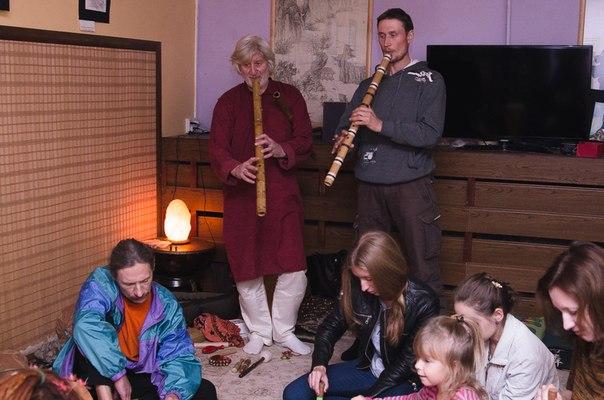 импровизации на флейте